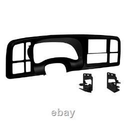 Metra Dp-3002b Black Double Din Dash Kit Pour Select 99-02 Gm Camion/suv De Taille Complète