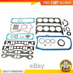 Moteur Reconstruire Kit Convient 96-02 Chevrolet Cadillac C1500 Suburban 5.7l Ohv 16v
