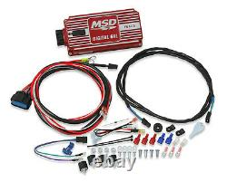 Msd Ignition 85551k Billet Distributeur Ignition Kit S'adapte Small Block Chevy V8