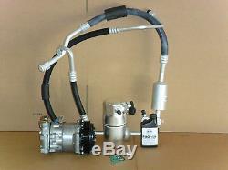 New Ac Compresseur Kit Convient 1996-1999 Chevrolet Suburban / Tahoe 5.7 Avec Arrière Ac