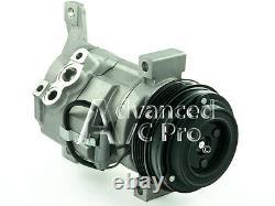 Nouveau Compresseur Ac Kit Convient 2003 2004 2005 Silverado 1500 V8 4.8l Et 5.3l 6.0l