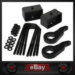 Plein 3 + 3 Steel Suspension Lift Kit Fits 99-07 Silverado Sierra 1500 Z71 4x4
