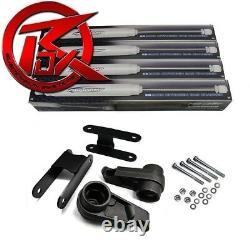 Pour 04-10 Chevy Colorado 3 Avant + Arrière Shackles Lift Kit Shocks 4x4 4x2 Z71