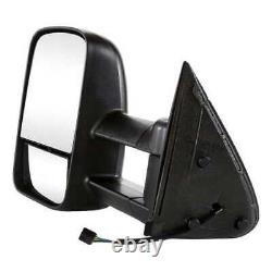 Power Heated Tow Side Mirror Paire Pour 1999-2006 2007 Gmc Sierra Silverado 1500