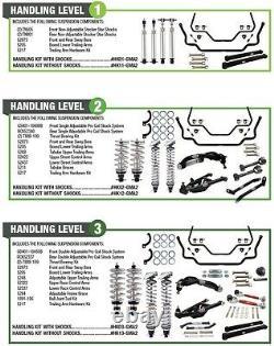 Qa1 Suspension Kit Manipulation Niveau 2 Convient 1968-1972 Gm A Corps, Chevelle, Gto