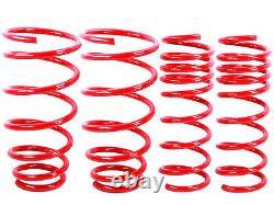 Red Abaissant Springs Fit 93-02 Camaro & Firebird