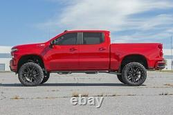 Rough Country 6 Lift Kit (s'adapte) 19-21 Chevy Silverado 1500 N3 Shocks Knuckles