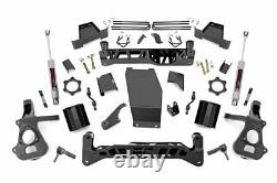 Rough Country 7 Lift Kit (ajustements) 14-18 Silverado Sierra 1500 4wd N3 Chocs