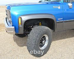 S'adapte 73-80 Blazer Ck Truck Jimmy Suburban Xenon Urethane Fender Flares Kit 8390