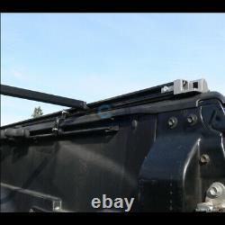 S'adapte 99-07 Silverado/sierra Fleetside 6.5' Short Bed Roll-up Soft Tonneau Cover