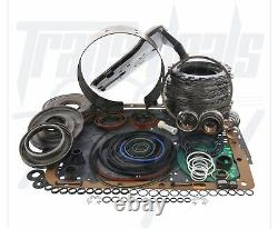 S'adapte Chevy 4l60e Transmission 3-4 Powerpack Reconstruire Kit De Luxe 97-03 Shallow Pan