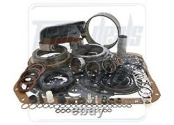 S'adapte Chevy Gm 4l80e Transmission Deluxe Rebuild Overhaul Kit 1990-96