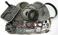 S'adapte Chevy Gm 4l80e Transmission Master Rebuild Kit 1997-au Niveau 2+
