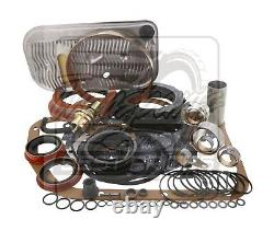 S'adapte Chevy Th400 Alto Red Eagle DLX Performance Transmission Rebuild Kit 65-on