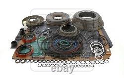 S'adapte Gm Chevy 4l60e Transmission Less Steel Overhaul Rebuild Kit 1997-03