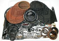 S'adapte Gm Chevy 4l80e Performance Transmission Master Rebuild Kit Red Eagle 90-96