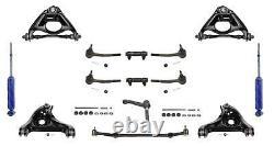S'adapte Pour 80-96 Chevrolet Caprice Control Arms Center Link Tie Rods 16pc Kit