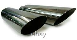 Stainless Steeldual Exhaust Kit Fits 1996 Chevy Pick Up Truck Single Chamber