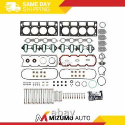 Tête Gasket Bolts Set Fit 02-04 Chevrolet Gmc Buick Cadillac 4.8 & 5.3 Ohv